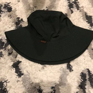 Barbour Western Trench Hat in Evergreen